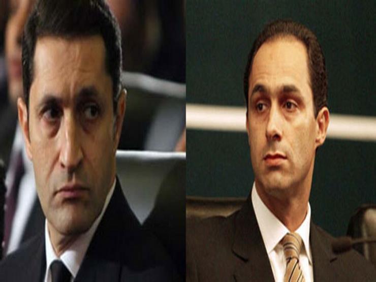 """22 فبراير.. الحكم على علاء وجمال مبارك و7 آخرين في """"التلاعب بالبورصة"""""""