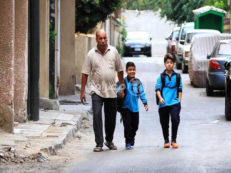 صورة- أول يوم مدرسة.. أهلاً بالعيد