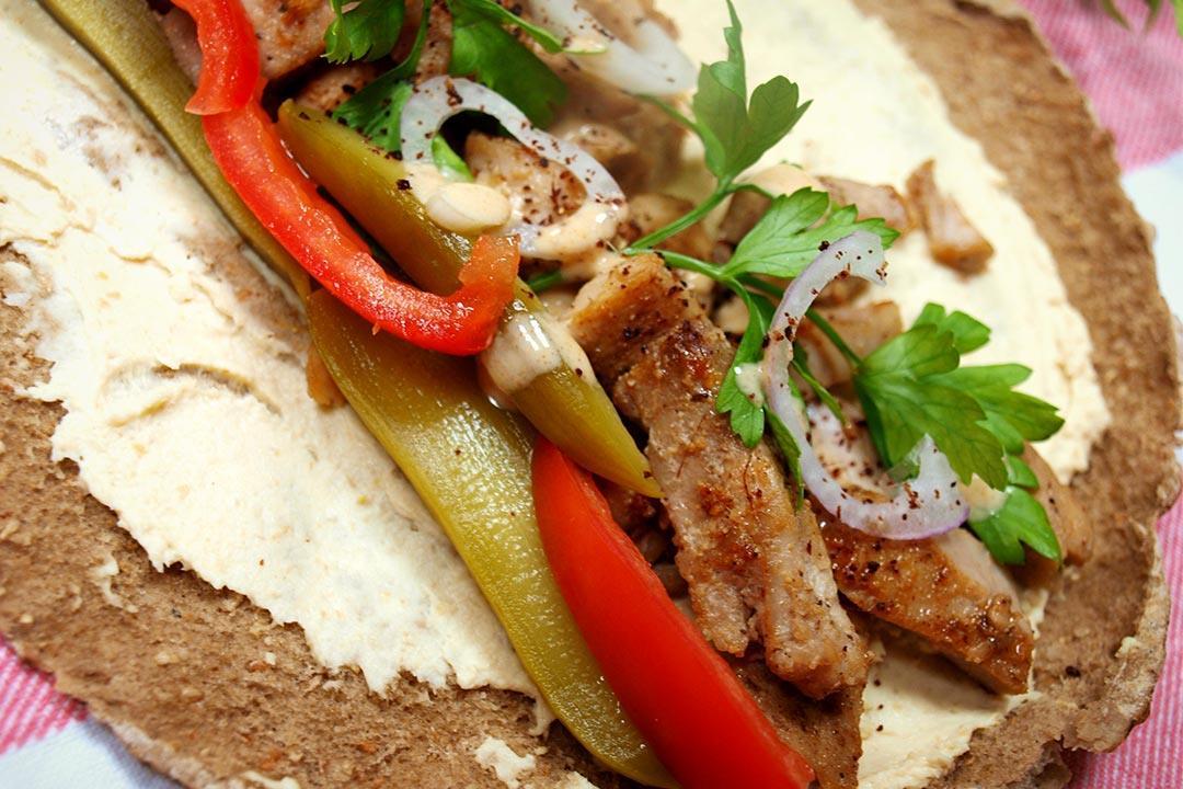 طريقة صحية ولذيذة لتحضير شاورما السمك