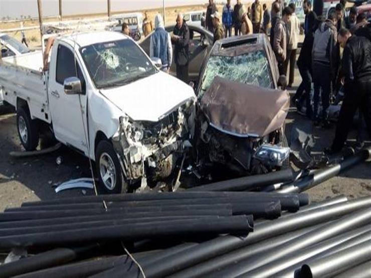 مصرع أمين شرطة وإصابة 2 في تصادم بالبحيرة