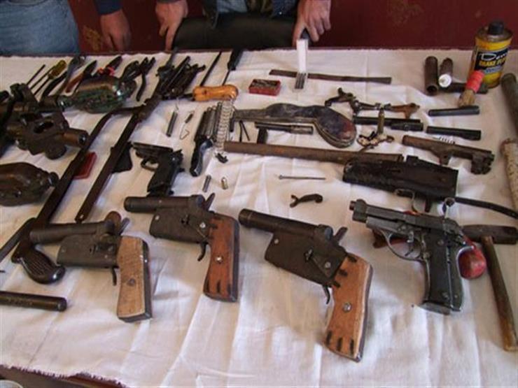 تنفيذ 80 ألف حكم قضائي وضبط 200 قطعة سلاح بالمحافظات