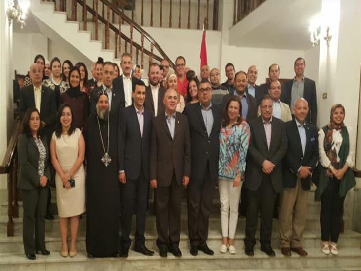 السفير المصري بإثيوبيا يستقبل وزير الري