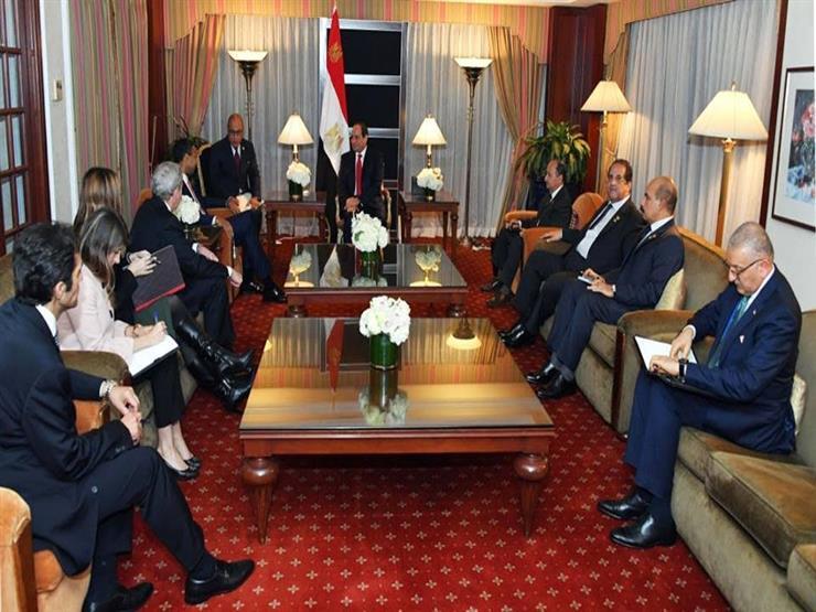 """السيسي يؤكد حرص جمهورية مصر على مواصلة التعاون مع شركة """"بوينج"""""""