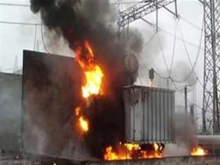 السيطرة على حريق بمحولين كهربائيين في سنترال بورسعيد