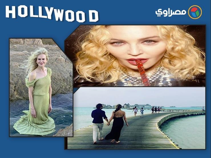 نشرة هوليوود| سلمي حايك من غرفة نومها تحتفل بـ2019 وكيدمان على البحر