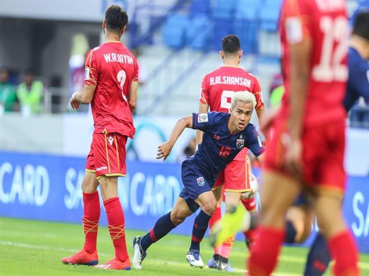 تايلاند تفوز على البحرين في كأس آسيا