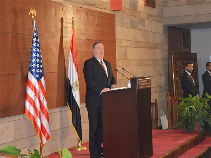 نبيل فهمي عن خطاب بومبيو: عكس الأولويات الأمريكية بالشرق الأوسط.. وبه نقطة سلبية