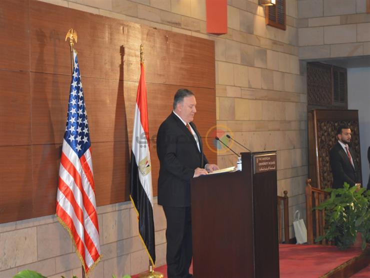 وزير الخارجية الأمريكي: زيارتي لمصر مثمرة.. ودعمنا لها مستمر