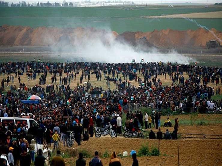 جمعة مواجهات جديدة ضمن مسيرات العودة بين الفلسطينيين والجيش الاحتلال