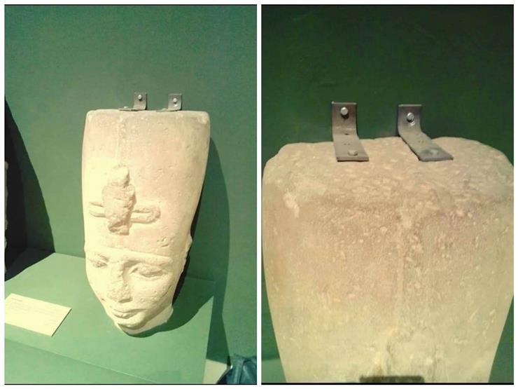 """""""الآثار"""" ترد على واقعة تثبيت تمثال بـ""""مسامير"""" في متحف سوهاج"""