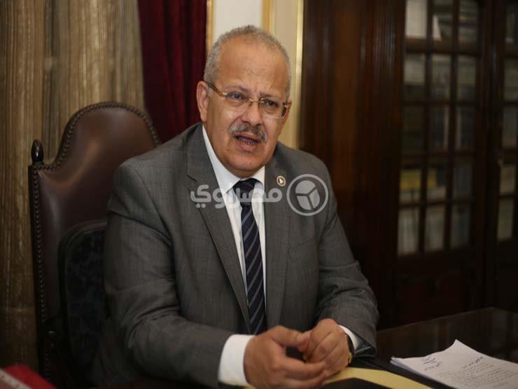 الخشت: ربط المواقع الإلكترونية بكليات ومعاهد جامعة القاهرة بالموقع الإلكتروني الرئيسي