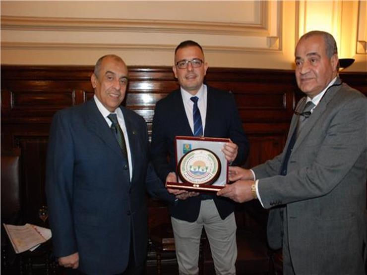 """""""أبوستيت"""" و """"المصيلحي"""" يبحثان مع وزير الزراعة الصربي آفاق جديدة للتعاون بين البلدين"""