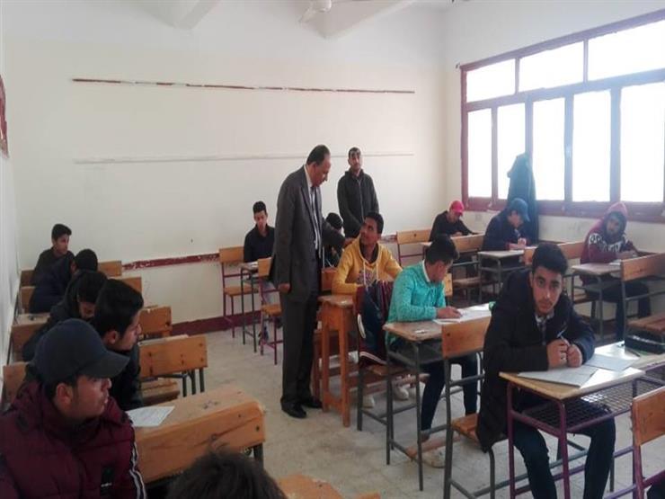 """""""تعليم بني سويف"""": امتحان اللغة العربية للشهادة الإعدادية في مستوى الطالب العادي"""
