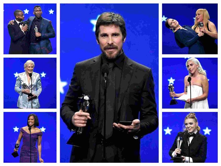 """كريستيان بيل يقتنص الجائزة من رامي مالك و""""Roma"""" يكتسح """"اختيار النقاد"""" بالأربعة"""