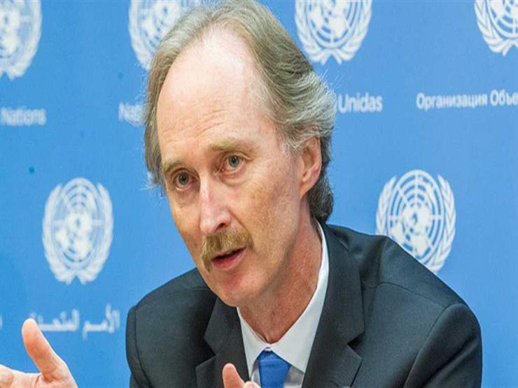 المبعوث الأممي لسوريا يصل إلى دمشق لمناقشة تشكيل لجنة دستورية