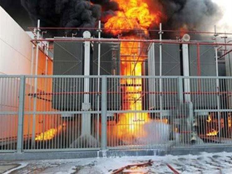 """بعد انفجار محول """"أبوشميس"""".. عودة التيار الكهربائي لقرى الحسينية في الشرقية"""