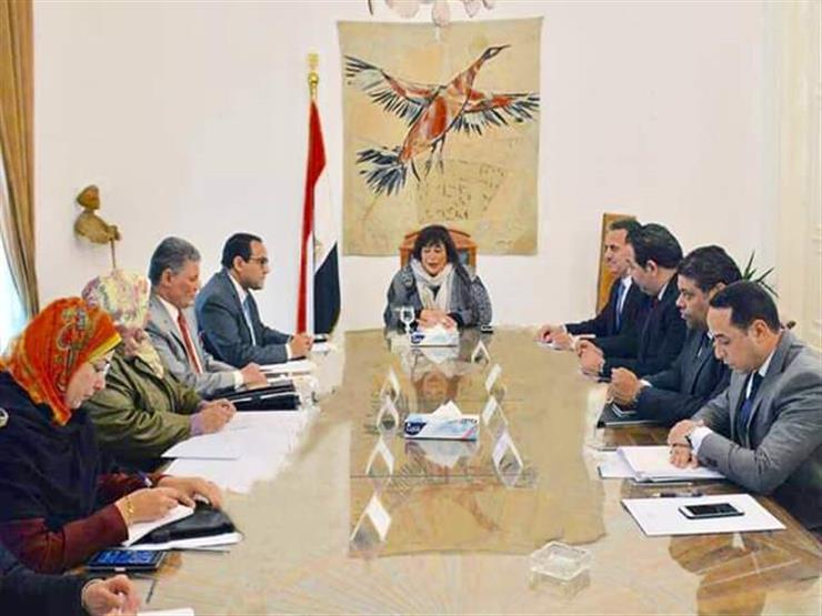 """وزيرة الثقافة تبحث تطوير مؤسسات الوزارة مع رئيس """"التنظيم والإدارة"""""""