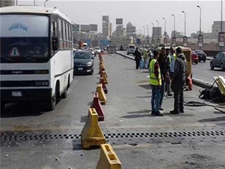 المرور: غلق جزئي لكوبري 6 أكتوبر لمدة يومان