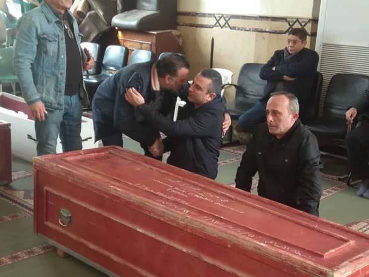 وصول جثمان سعيد عبدالغني لمسجد الصديق
