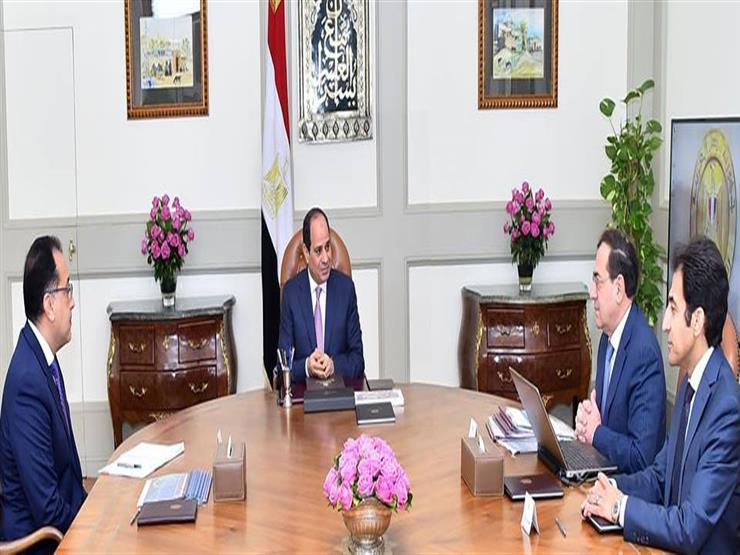 السيسي يوجه بمواصلة استكشاف موارد مصر البترولية للاستفادة المثلى منها