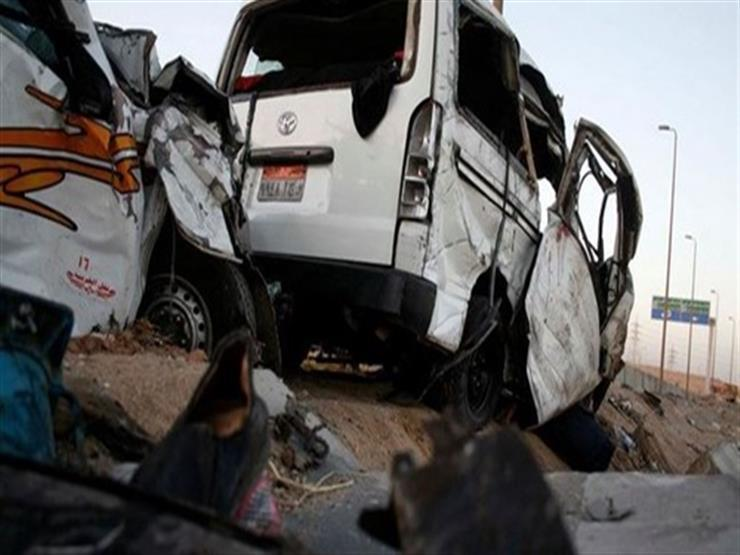 بالأسماء.. إصابة 6 أشخاص في حادث على طريق بورسعيد - دمياط