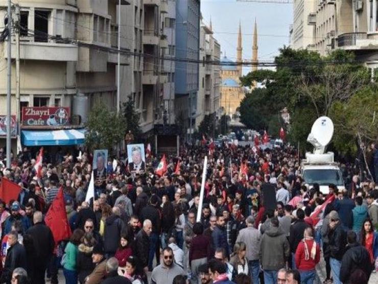 لبنان: اعتصام في محيط سفارة أمريكا احتجاجًا على زيارة بومبيو