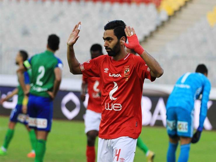 حسين الشحات يسجل ثاني أهدافه مع الأهلي