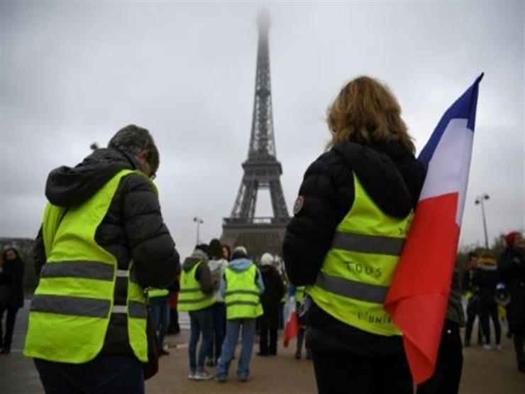 اعتقال 152 شخصا بينهم قائدان لحركة السترات الصفراء في العيد الوطني لفرنسا