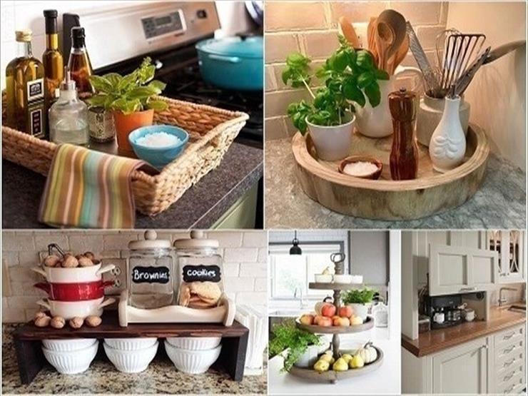 10 أفكار لوحدات تخزين لطاولة المطبخ