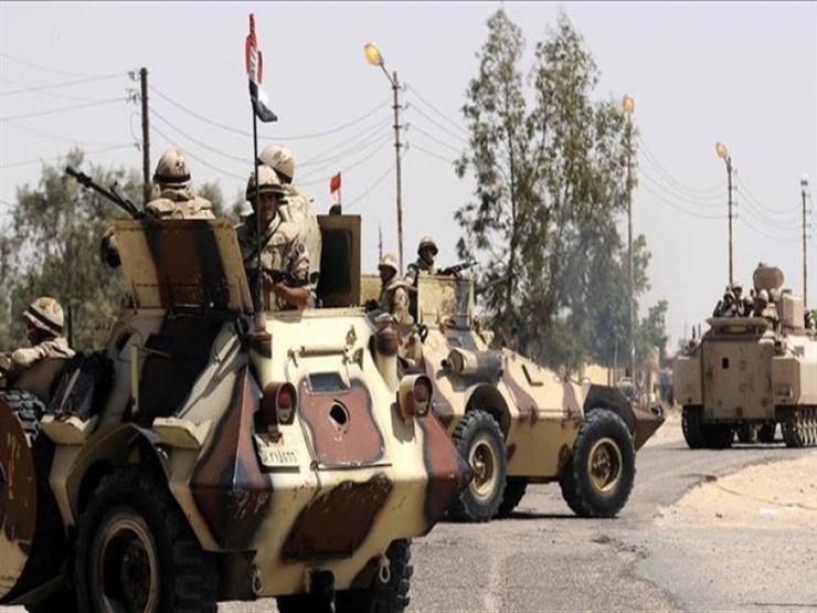 """المتحدث العسكري: القضاء على عناصر إرهابية بينهم """"قياديان للتنظيم"""" شمالي سيناء"""