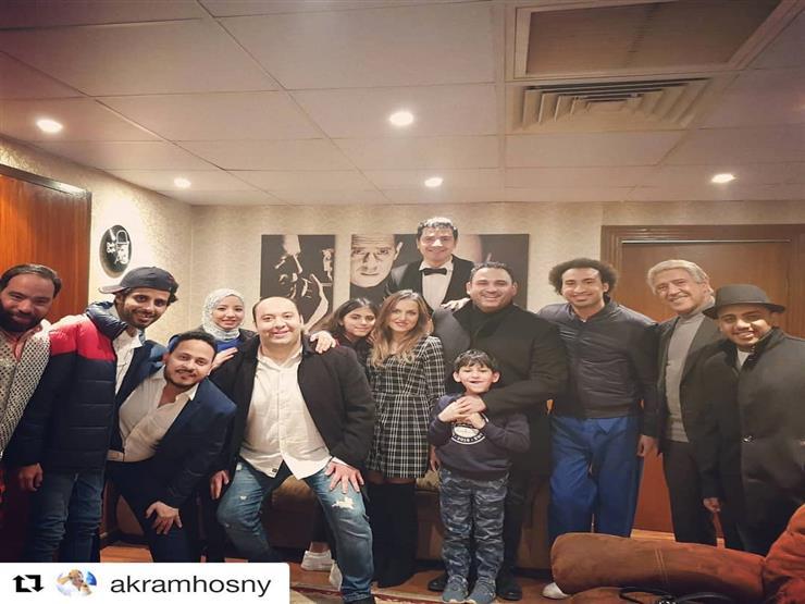 أشرف عبدالباقي يوجه الشكر لأكرم حسني