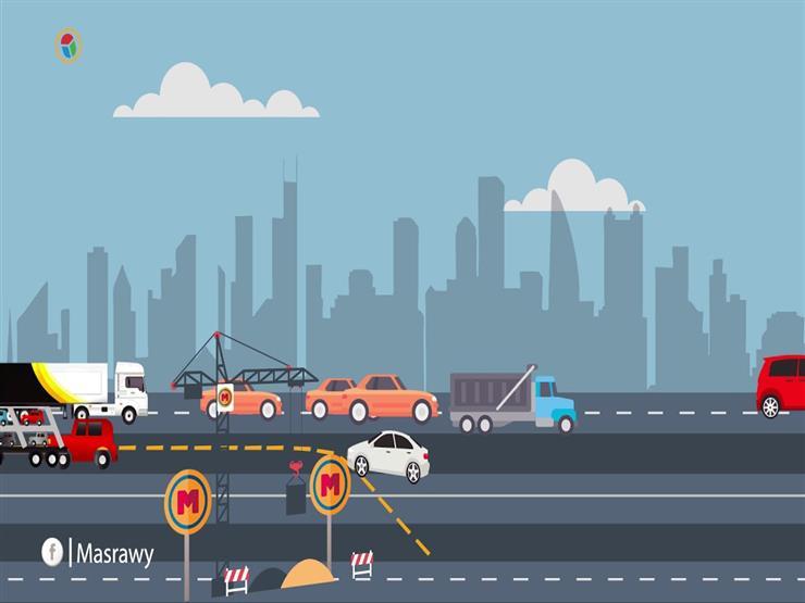 """ممنوع المرور.. خريطة التحويلات المرورية بـ""""المهندسين"""""""