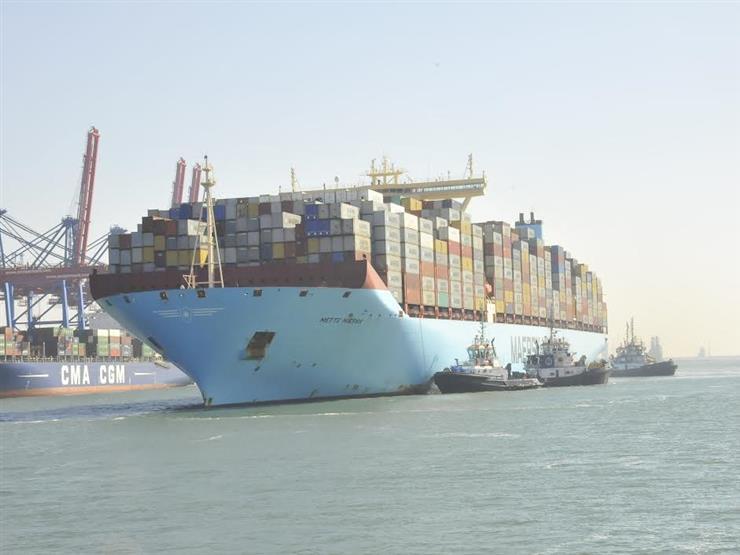 49 سفينة تعبر المجري الملاحي لقناة السويس اليوم