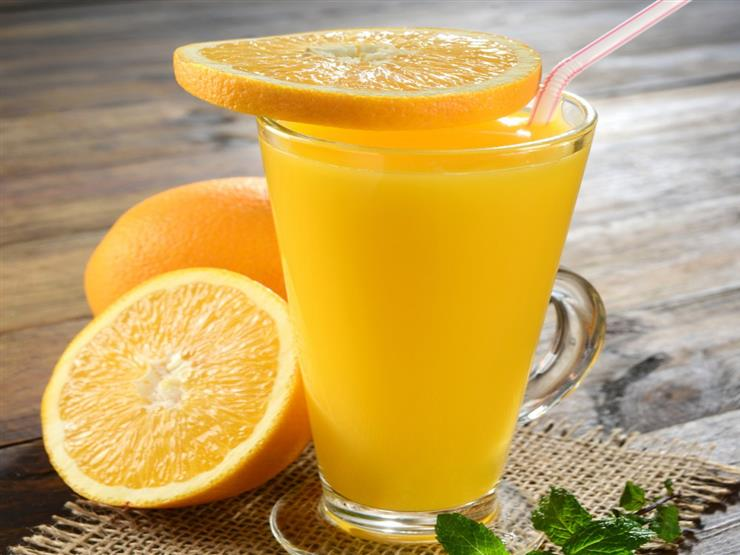 طريقة عمل عصير برتقال بالنعناع