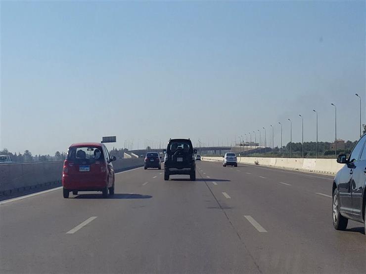 """المرور: تحويلات بـ""""صحراوي الإسكندرية"""" لمدة 7 أيام"""