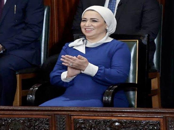 انتصار السيسي تهنئ الشعب المصري والأمة الإسلامية بعيد الفطر المبارك