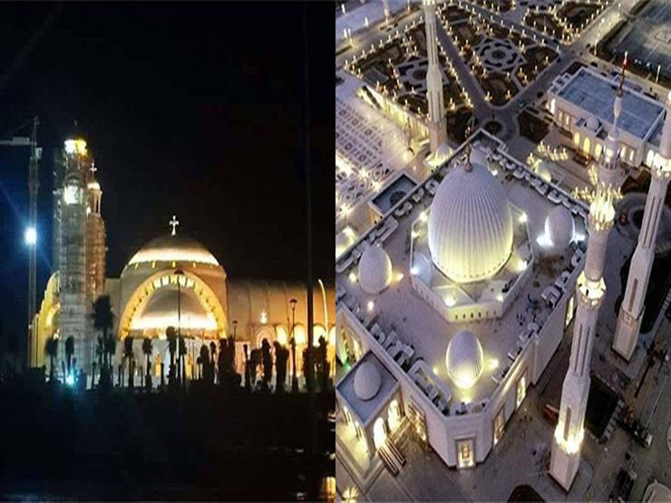 غرفة التطوير العقاري: افتتاح مسجد الفتاح العليم والكاتدرائية نقطة مضيئة تضاف للدولة