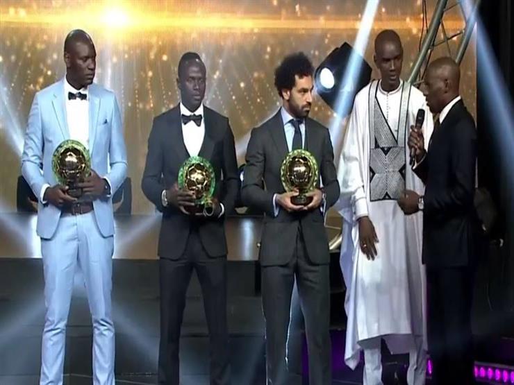 بالفيديو- محمد صلاح يرقص بعد تتويجه بلقب أفضل لاعب أفريقي