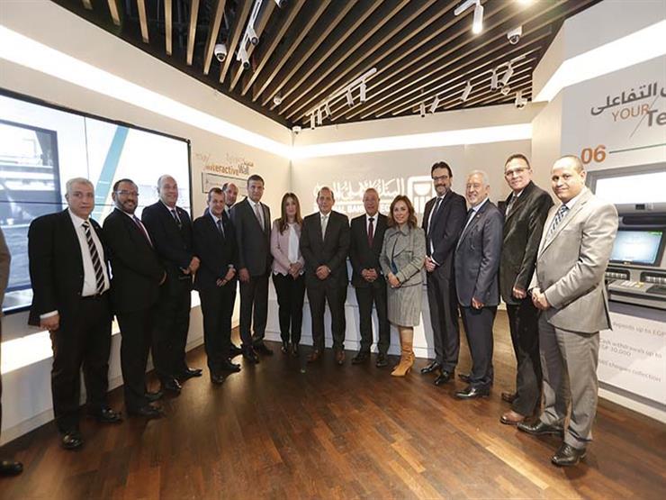 a17dfe10f البنك الأهلي يفتتح أول فرع للخدمات المصرفية الإلكترونية في م | مصراوى