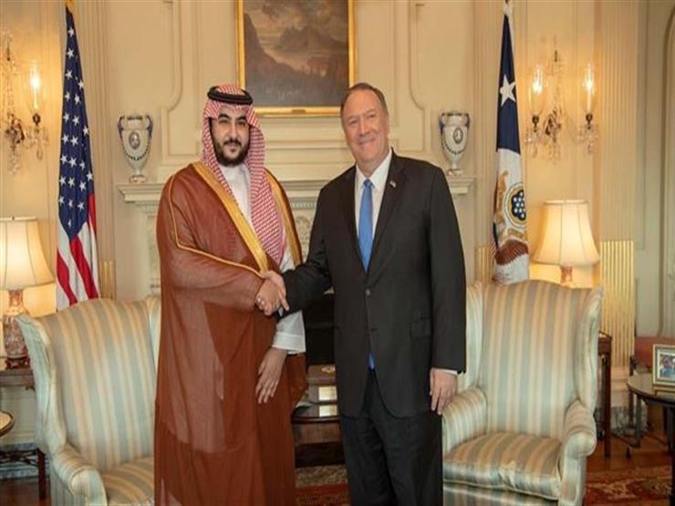 نائب وزير الدفاع السعودي يلتقي بومبيو وإسبر في واشنطن