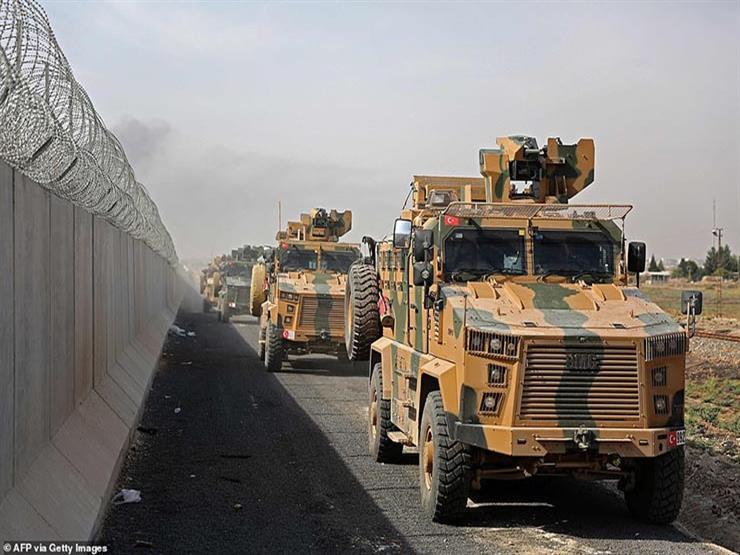 المرصد: 1300 آلية عسكرية تركية دخلت إلى سوريا خلال أسبوع   مصراوى