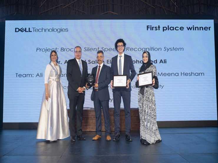 """فريق من جامعة حلوان يفوز بالمركز الأول بمسابقة """"دل تكنولوجيز"""" لتقنيات المستقبل"""