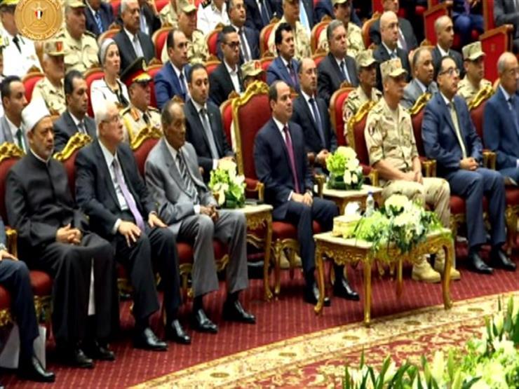 السيسي: الجيش تعرض لحملة تشويه خلال الأشهر الماضية