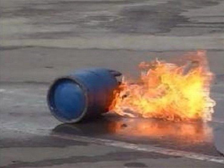 إصابة شخص في انفجار أسطوانة بوتاجاز بالشرقية