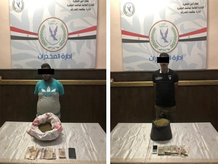 قبل ترويجها بالقاهرة.. ضبط عصابة بحوزتها 3 كيلو فودو بمنطقة السلام