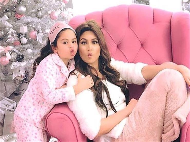 فيديو| بهذه الطريقة.. مي سليم تحتفل بعيد ميلاد ابنتها الوحيدة