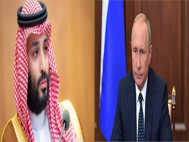 ولي العهد السعودي وبوتين يبحثان تطورات الأزمة السورية واليمنية