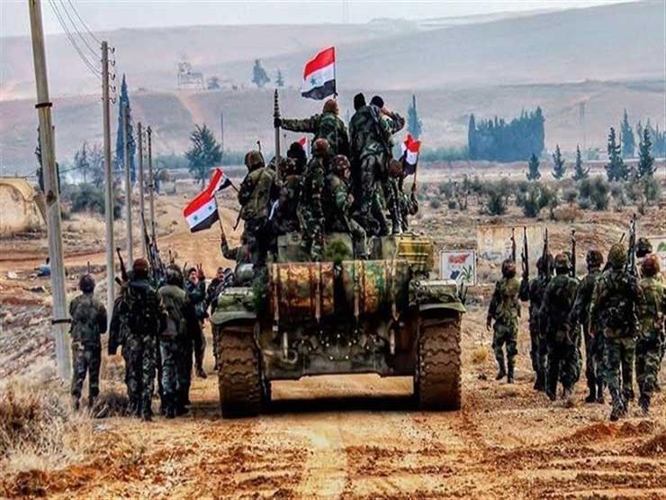 الجيش السوري يدخل مدينة سراقب بريف إدلب