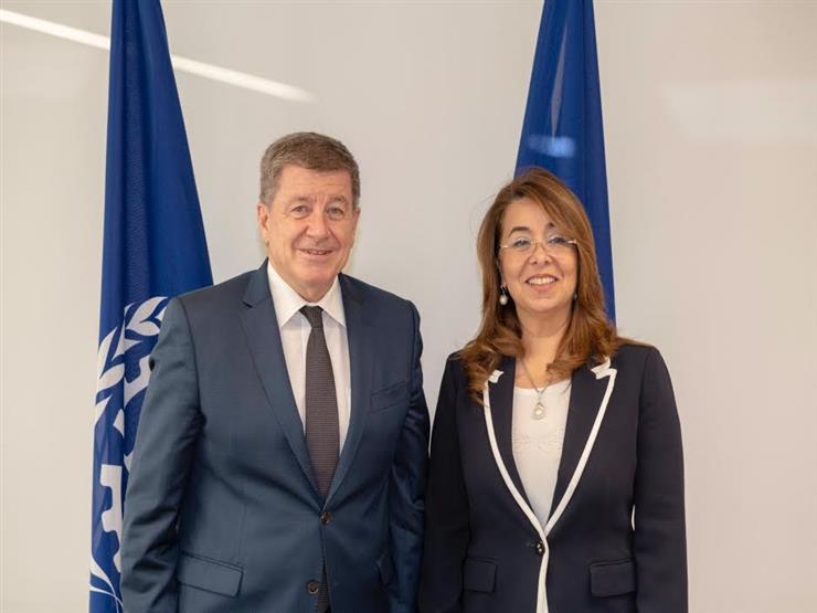 وزيرة التضامن تلتقي برئيس منظمة العمل الدولية ونائبة رئيس الأونكتاد