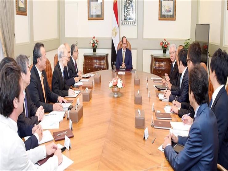 السيسى لرئيس تويوتا: مصر مؤهلة لتكون محورا للصناعات والمنتجا   مصراوى